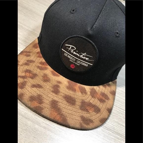 CHEETAH PRINT PRIMITIVE SNAPBACK HAT CAP VINTAGE. M 5b66a7bad365be8893fef657 c8cf42ea7141